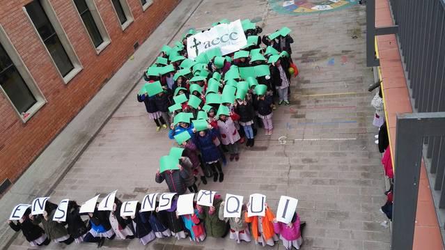 L'Urgell es suma al Dia Contra el Càncer il·luminant de verd alguns dels principals edificis