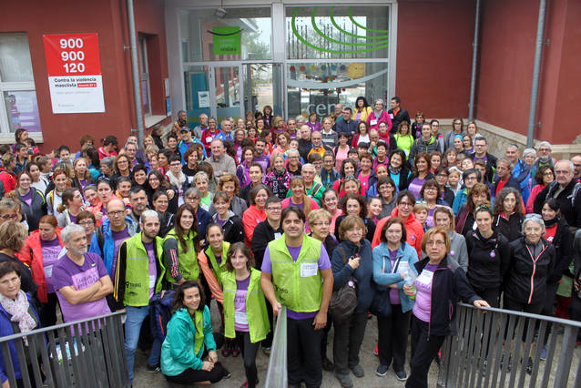 Més de 200 participants a la segona edició de la Caminada de la Dona Rural de Tàrrega