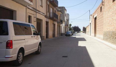 Noves canonades per al carrer Urgell de Castellserà