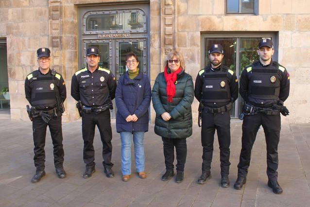 Noves incorporacions a la plantilla d'agents de la Policia Local de Tàrrega