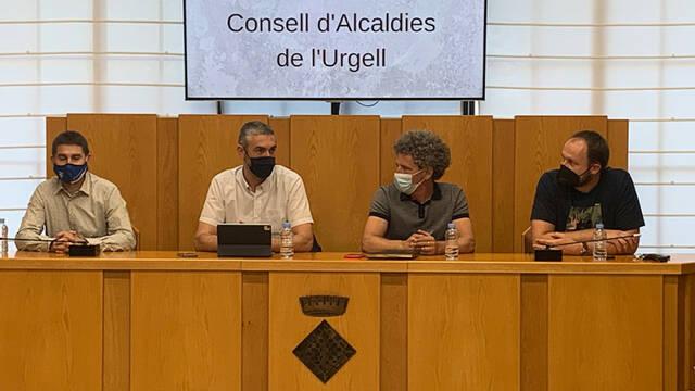Òscar Martínez és nomenat nou president del Consell d'Alcaldes de l'Urgell