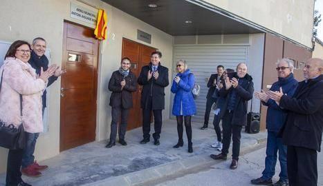 Preixana dedica l'arxiu a l'historiador Antoni Aiguadé