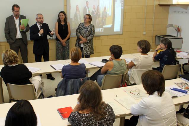 Primera activitat docent al Centre de Formació Contínua de la UdL de Tàrrega