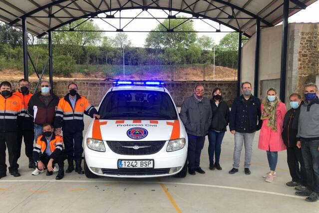 Quatre municipis del Baix Sió adquireixen conjuntament un vehicle de Protecció Civil