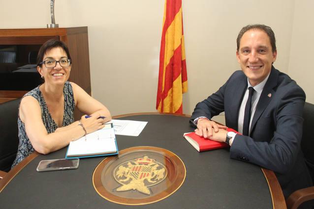 L'alcaldessa de Tàrrega insisteix en la necessitat de construir carrils laterals a l'A2