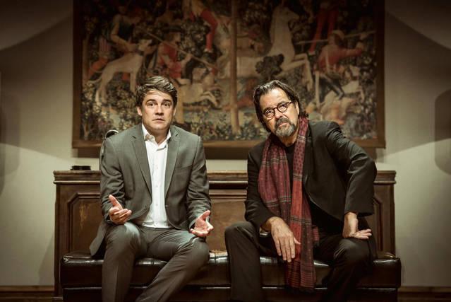 """Roger Coma i Abel Folk protagonitzen a Tàrrega la comèdia satírica """"L'electe"""", el dissabte 3 de febrer"""