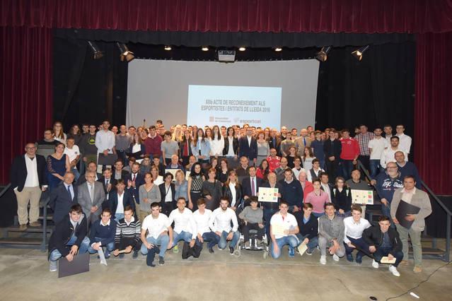 Set esportistes urgellencs reben un reconeixement per part de la Generalitat