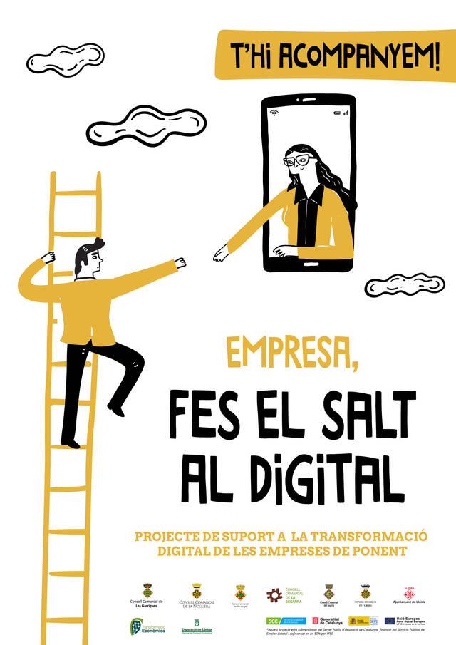 S'inicia una campanya per fomentar la digitalització de les empreses de Ponent