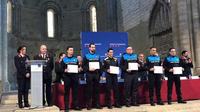 Sis agents de la Policia Local de Tàrrega, distingits amb felicitacions en el marc del Dia de les Esquadres