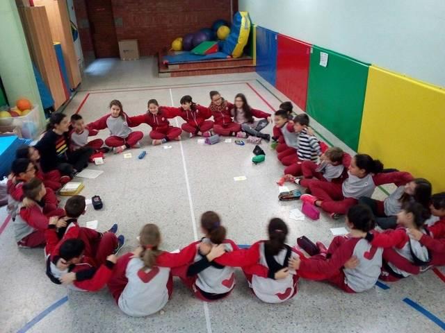 Tallers d'Art-Teràpia per als alumnes de quart de primària de l'Urgell