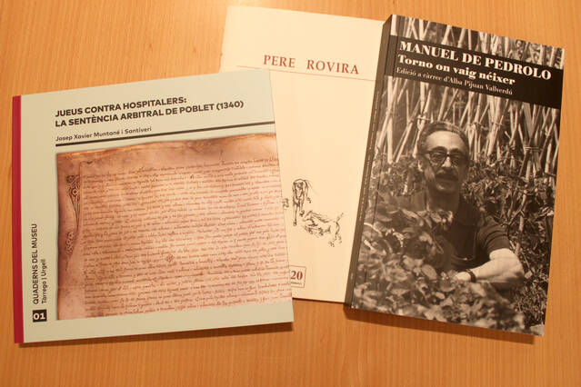Tàrrega, aparador de novetats editorials amb motiu del cicle de Sant Jordi