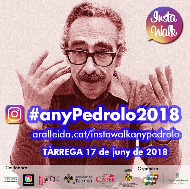 Tàrrega celebrarà una ruta per a usuaris d'Instagram resseguint l'empremta de Manuel de Pedrolo