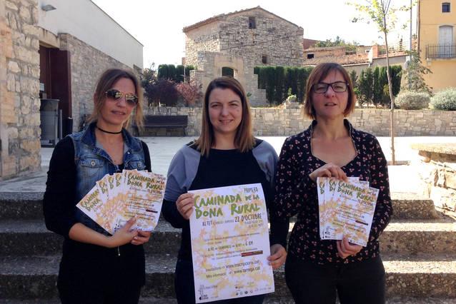 Tàrrega convoca aquest diumenge 22 d'octubre la primera edició de la Caminada de la Dona Rural
