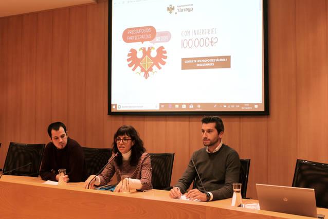 Tàrrega convoca un fòrum ciutadà per debatre 76 propostes de pressupostos participatius