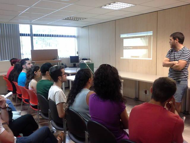 """Tàrrega desenvolupa el programa d'inserció laboral per a joves """"Obrint Portes"""""""
