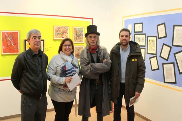 Tàrrega exhibeix a la Sala Marsà l'obra gràfica del poeta Enric Casasses, autor al qual dedica el cicle de Sant Jordi