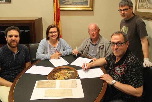 Tàrrega exposarà tres documents d'època medieval relacionats amb la comunitat jueva