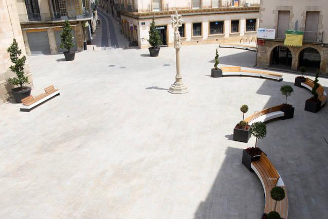 Tàrrega fixa la nova ordenació del trànsit a la plaça Major