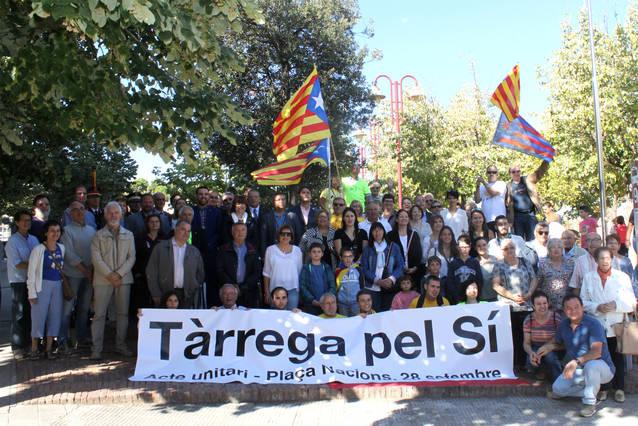 Tàrrega honora la Diada Nacional de Catalunya