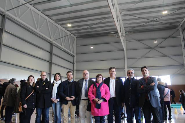 Tàrrega inaugura el gimnàs del col·legi públic Àngel Guimerà