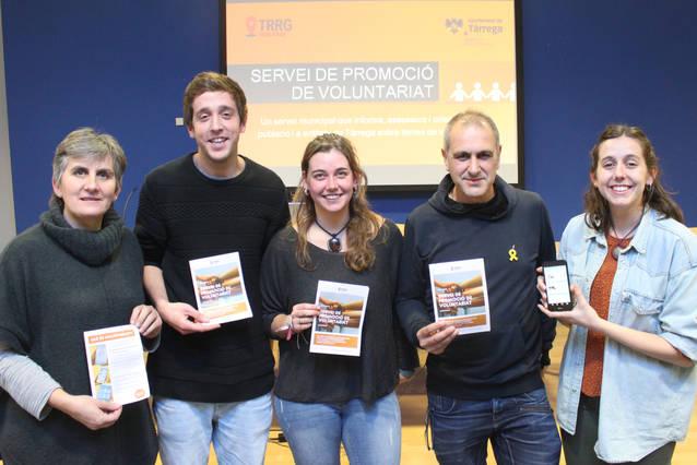 Tàrrega posa en marxa el Servei de Promoció de Voluntariat