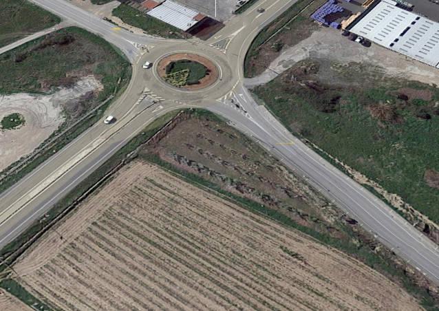 Territori i Sostenibilitat impulsa les obres de construcció d'una rotonda a l'N-II a Bellpuig