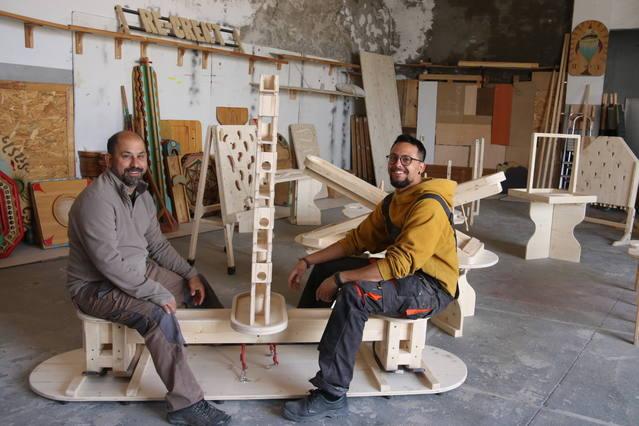 Tombs Creatius crea una col·lecció de jocs  de fusta per a un museu noruec a l'aire lliure