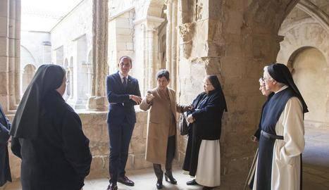 Vallbona acabarà a la tardor la restauració del monestir