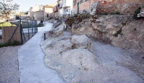 Vilagrassa recupera l'antiga Séquia Molinal, que torna a ser transitable