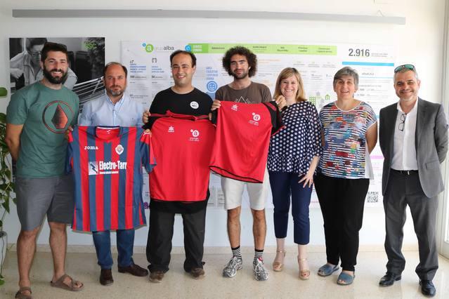 Vint persones amb discapacitat d'Alba podran accedir gratuïtament als partits de futbol del Tàrrega