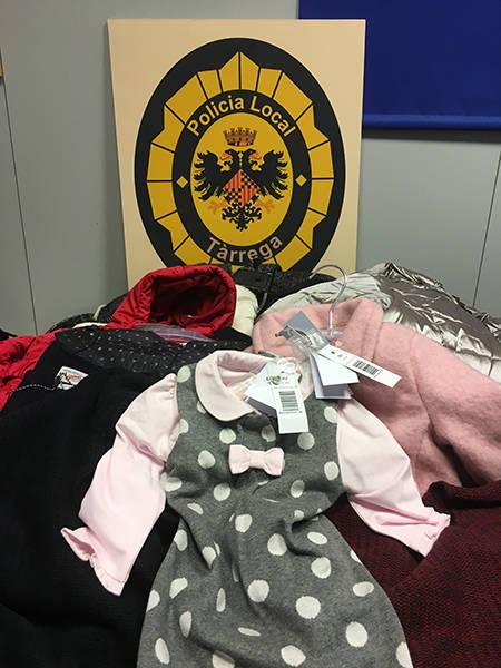 La Policia Local de Tàrrega deté dues dones per un presumpte delicte de furt de roba