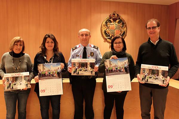 Tàrrega, al calendari solidari editat pels Mossos d'Esquadra