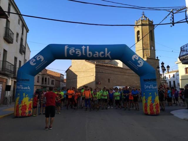 200 participants a la 3ª Marxa del'Esparver Cendrós de Bellcaire d'Urgell