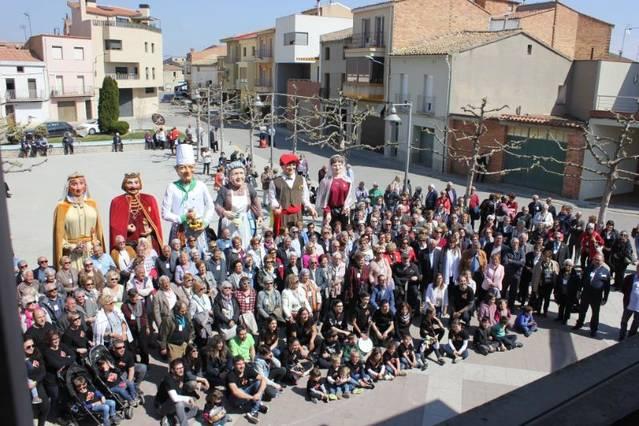 400 persones van participar a la 14a Trobada de Gent Gran de la Noguera a Térmens