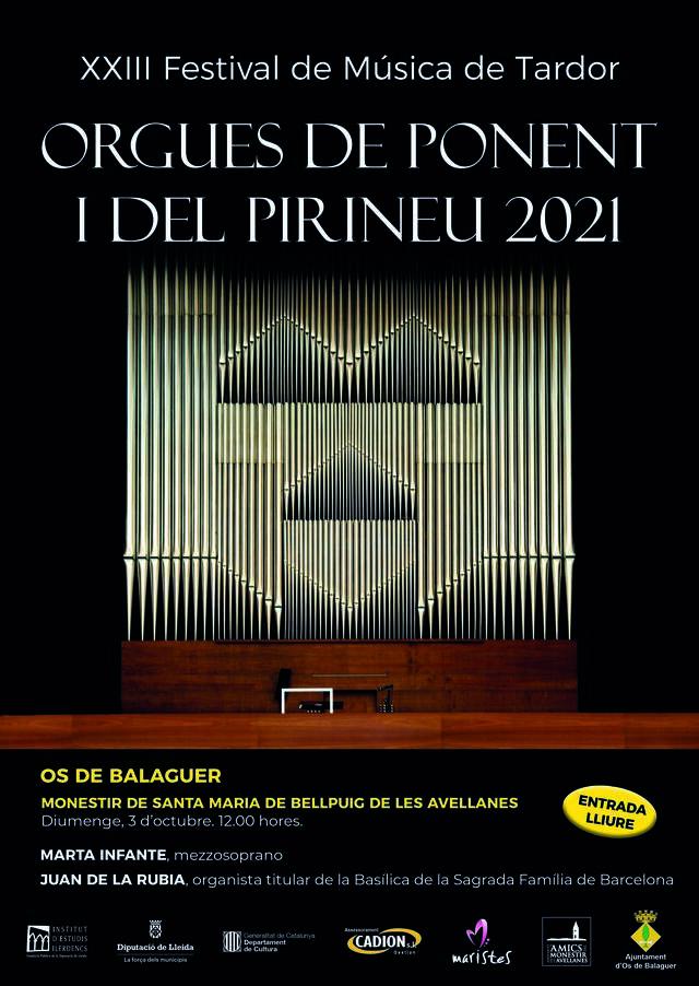 7è Concert d'orgue de tubs del Monestir de les Avellanes