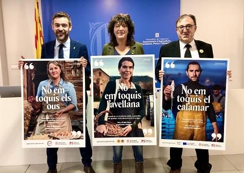Agricultura llança una campanya per conscienciar sobre la importància del sector primari català i la qualitat del seus productes