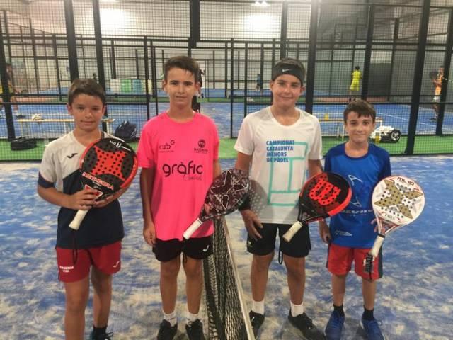 Íker Castillo i Gerard Navas campions en categoria aleví del I Súper Gran Slam de pàdel 2020 del Circuit de Menors