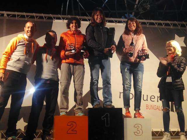 Albert Herrero i Carmen Palacín, guanyadors de la Ultra Trail Terres de Lleida