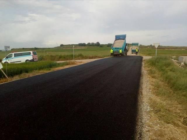Albesa destina més de 100.000 euros en asfaltatge i arranjament de camins