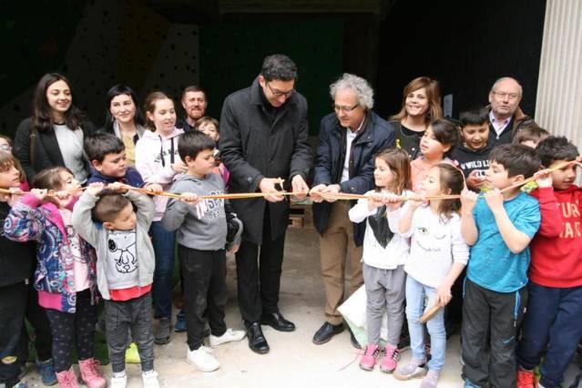 Albesa inaugura el nou rocòdrom coincidint amb la tradicional Cassolada de Sant Josep