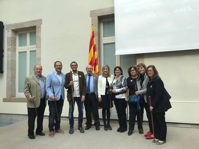 Alcaldes de la Noguera es mobilitzen per donar suport a Puigdemont i el Govern