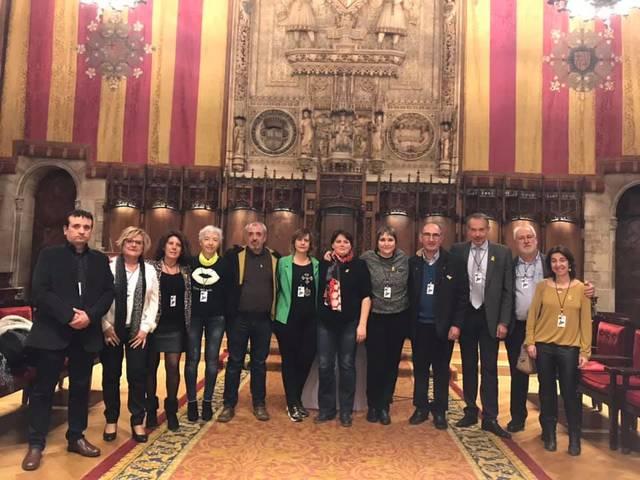 Alcaldes de la Noguera participen a l'acte municipalista organitzat per l'ACM