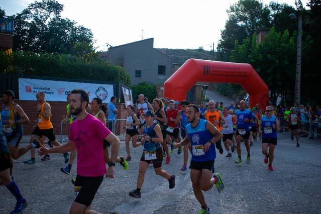 Alexandre Tàssies i Meritxell Bonet s'imposen a la cursa de La Cordera d'Albesa