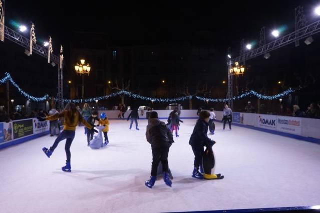 Aquest dijous ha tingut lloc l'encesa dels llums de Nadal a Balaguer