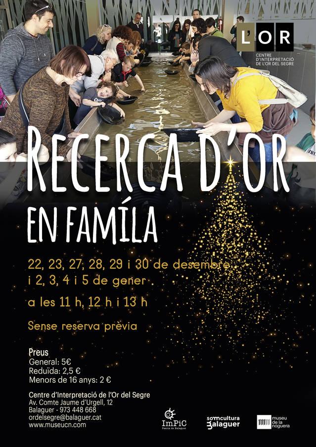 Aquest Nadal torna la febre de l'or a Balaguer