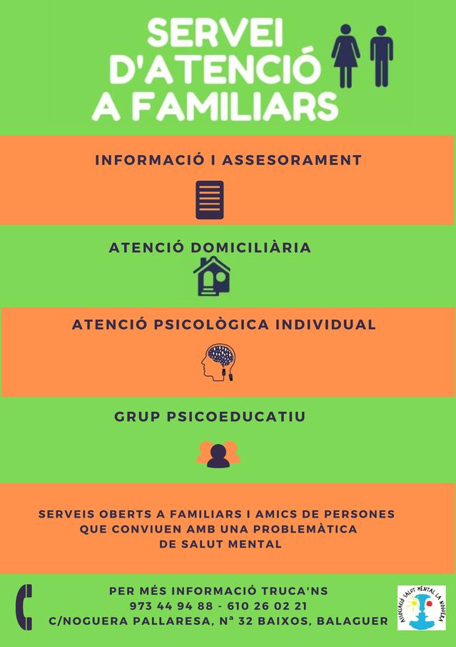 Atenció i acompanyament integral a les famílies
