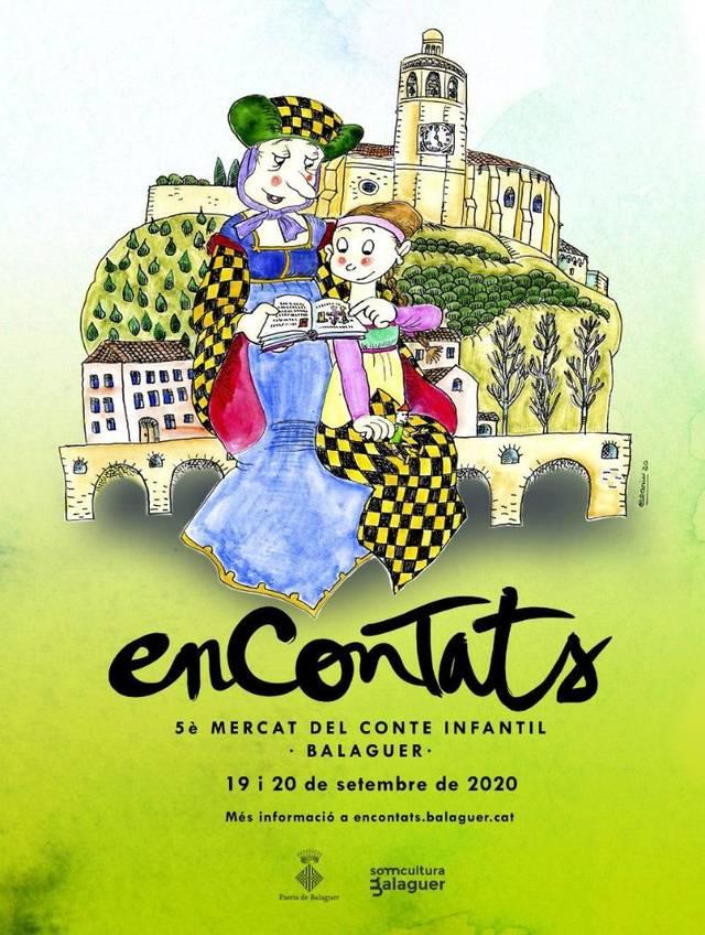 Balaguer celebra aquest cap de setmana la cinquena edició de l'Encontats amb Pilarin Bayés, Roser Capdevila i Josep Vallverdú com a convidats d'honor