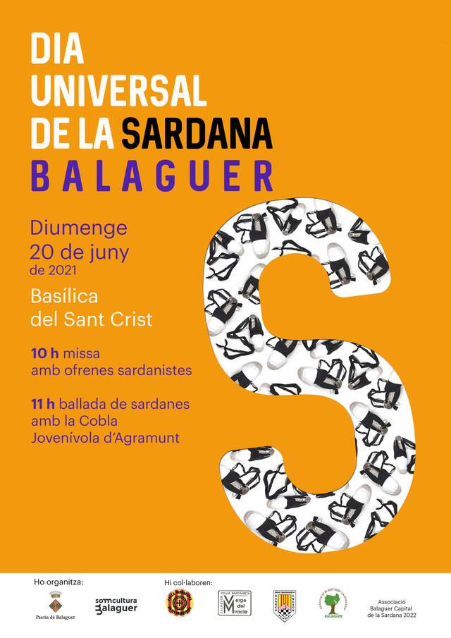 Balaguer celebrarà el Dia Universal de la Sardana