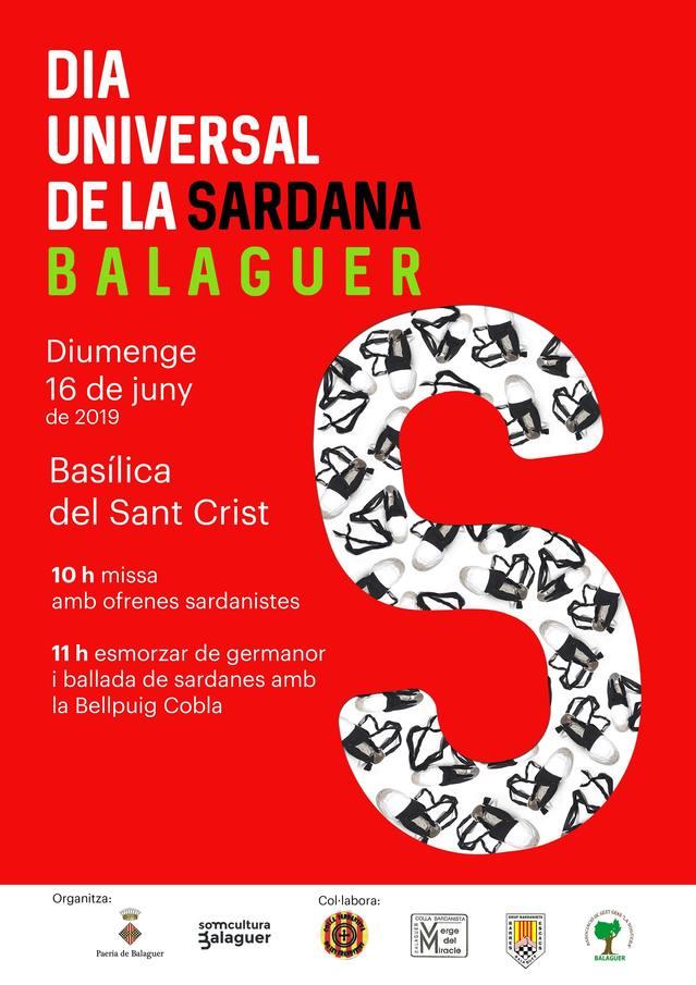 Balaguer celebrarà el Dia Universal de la Sardana amb totes les colles sardanistes