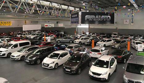 Balaguer exhibeix a Firauto més de 200 vehicles d'ocasió de 22 expositors